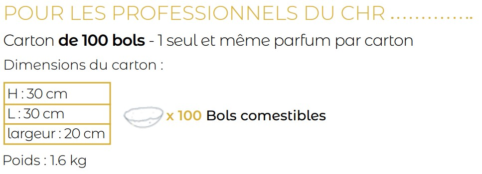Switch Eat -bols professionnel du CHR